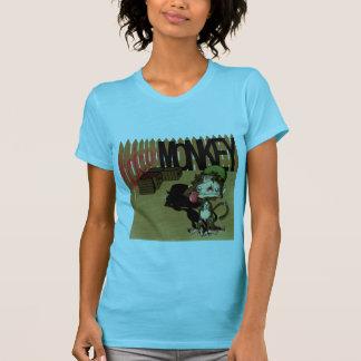 vicious battle monkey t-shirt