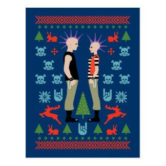 Vicious Christmas Postcard