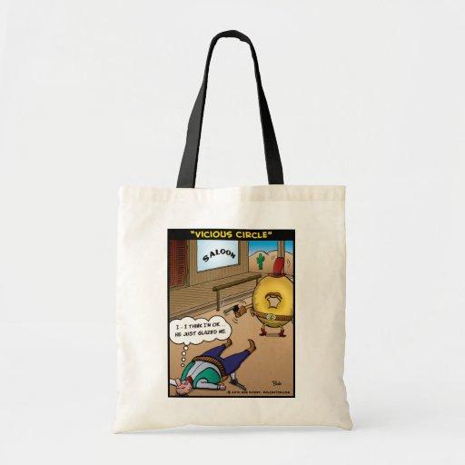 """""""Vicious Circle"""" Tote Bag"""