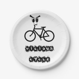 Vicious cycle paper plate