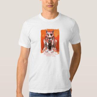 Vicious Dog by Ian Miller T Shirt