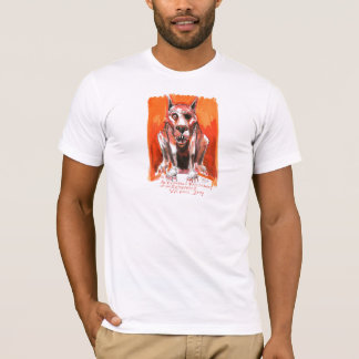 Vicious Dog by Ian Miller T-Shirt