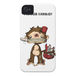 Vicious Monkey Iphone Case iPhone 4 Covers
