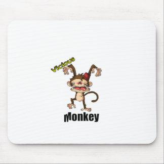Vicious Monkey Mouse Pad
