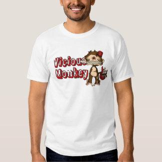 Vicious Monkey T Tshirt