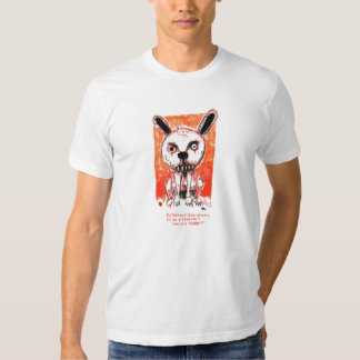 Vicious Rabbit by Ian Miller T-shirts