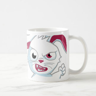 """Vicious Reader"" 11 oz. Mug for Lefties- White"