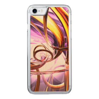 Vicious Web Abstract Carved iPhone 7 Case