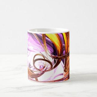Vicious Web Abstract Mug