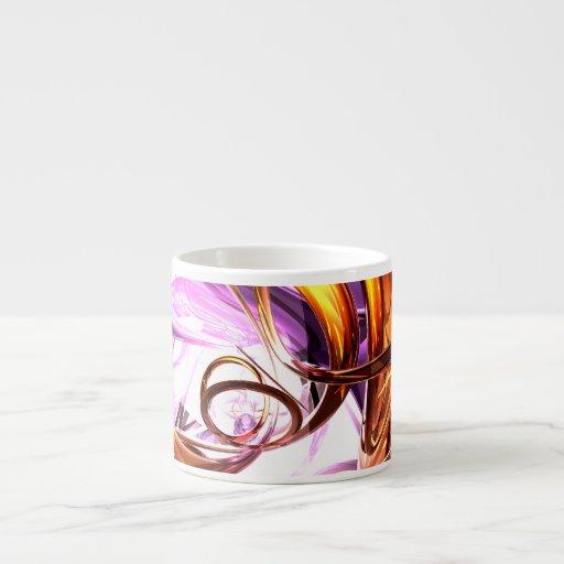 Vicious Web Abstract Espresso Cup