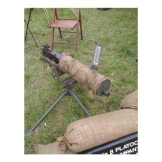 Vickers Gun Letterhead Design