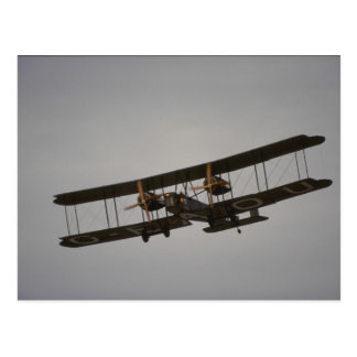 Vickers Vimy, WWI bomber Postcard