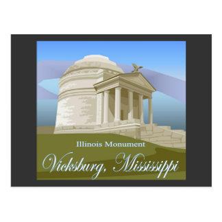 Vicksburg, MS Postcard