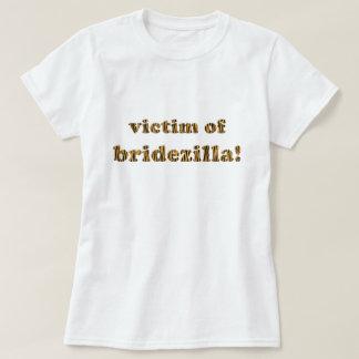 Victim of Bridezilla   Fun Tigerprint T-Shirt
