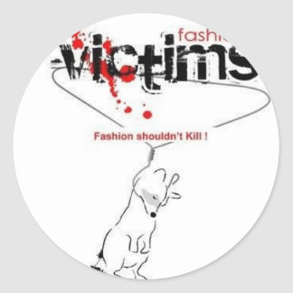 Victims of Fashion Stickers