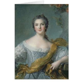Victoire de France  at Fontevrault, 1748 Card