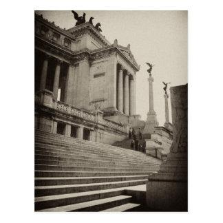 Victor Emmanuel II monument, Rome Postcard