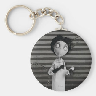 Victor  Frankenstein Basic Round Button Keychain