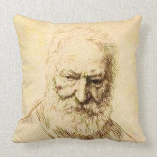 Victor Hugo par Alphonse Legros Throw Pillow