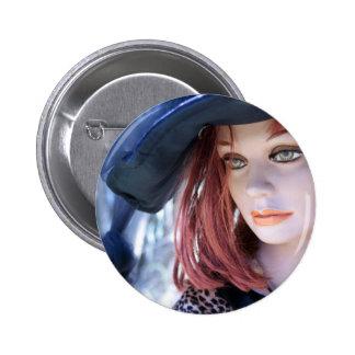 Victoria 2 Inch Round Button