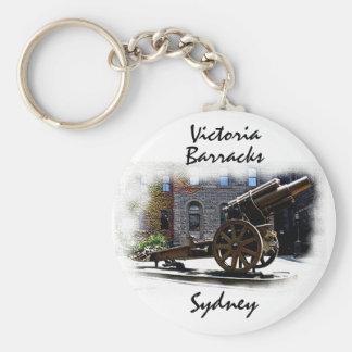 Victoria Barracks-Sydney Basic Round Button Keychain