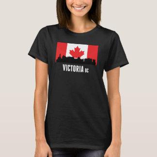 Victoria BC Canadian Flag T-Shirt