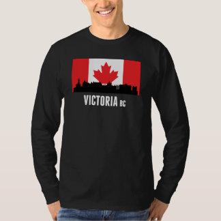 Victoria BC Canadian Flag Tee Shirt