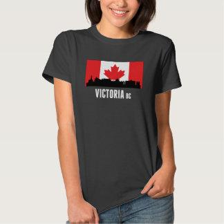 Victoria BC Canadian Flag Tee Shirts