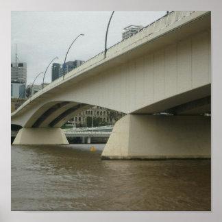 Victoria Bridge, Brisbane Poster