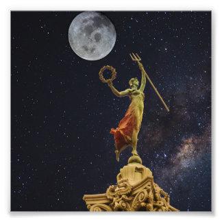 Victoria dances to celestial music art photo