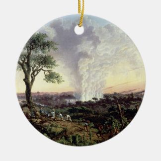 Victoria Falls at Sunrise, with 'The Smoke', or 'S Ceramic Ornament