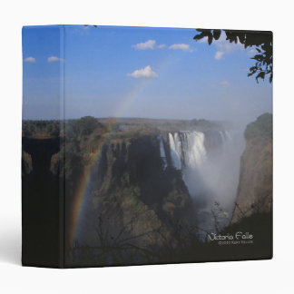 Victoria Falls Photo 3 Ring Binders