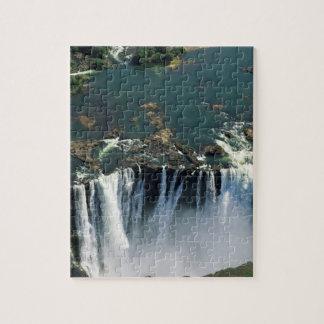 Victoria Falls, Zambia to Zimbabwe border. The Jigsaw Puzzle
