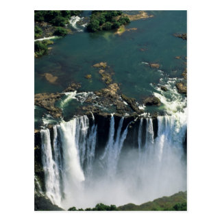 Victoria Falls, Zambia to Zimbabwe border. The Postcard