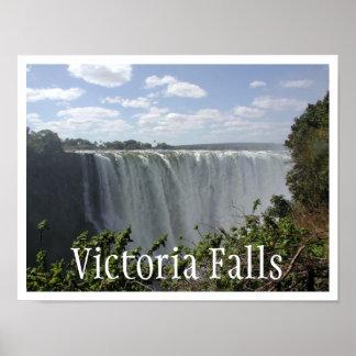 Victoria Falls, Zambia, Zimbabwe Poster