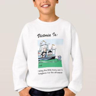 Victoria Is: c - by harrop Sweatshirt