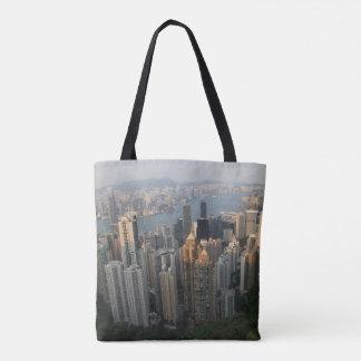 Victoria Peak Night & Day Tote Bag