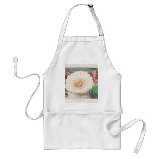 Victoria Regia. Vintage Water Lily illustration Standard Apron