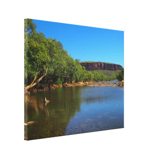 Victoria River canvas print