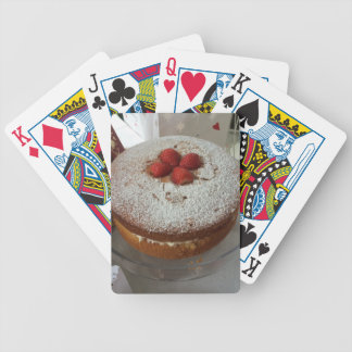 Victoria Sponge Cake Poker Deck