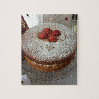 Victoria Sponge Cake Puzzles