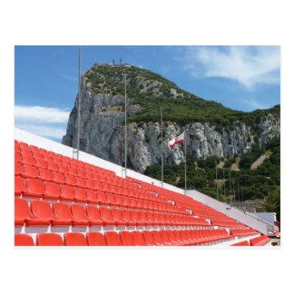 Victoria stage - Gibraltar Postcard