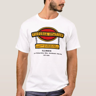 Victoria Station Restaurants of Illinois 1977-1984 T-Shirt