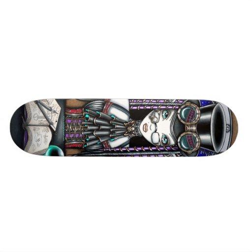 """""""Victoria"""" Steam Punk Faerie Art Skateboard"""