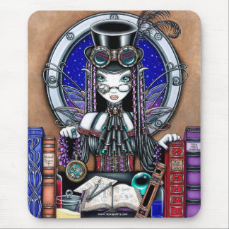 """Victoria"" Steam Punk Faerie Mouspad Mouse Pad"