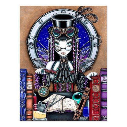 Victoria Steam Punk Faerie Postcard