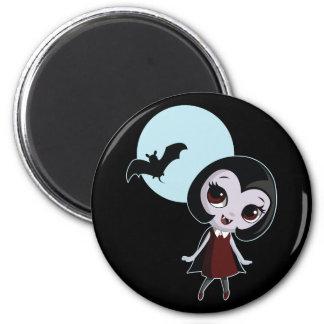 Victoria the Vampire 2 Inch Round Magnet