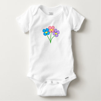 Victoria Westcoast Floral Bodysuit for Baby Girls