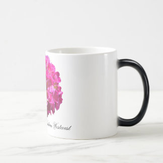 Victoria Westcoast logo & flower mug