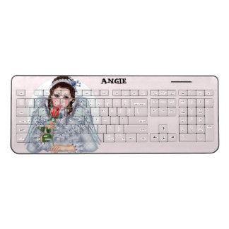 VICTORIAN ANGEL Custom Wireless Keyboard 2